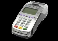 Conectado a terminal de tarjetas de crédito Verifone VX520 de LaPos
